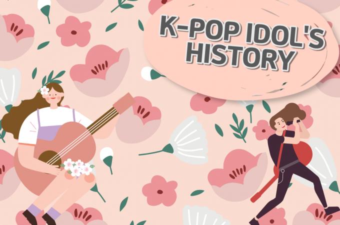 K-POP IDOL'S HISTORY #3