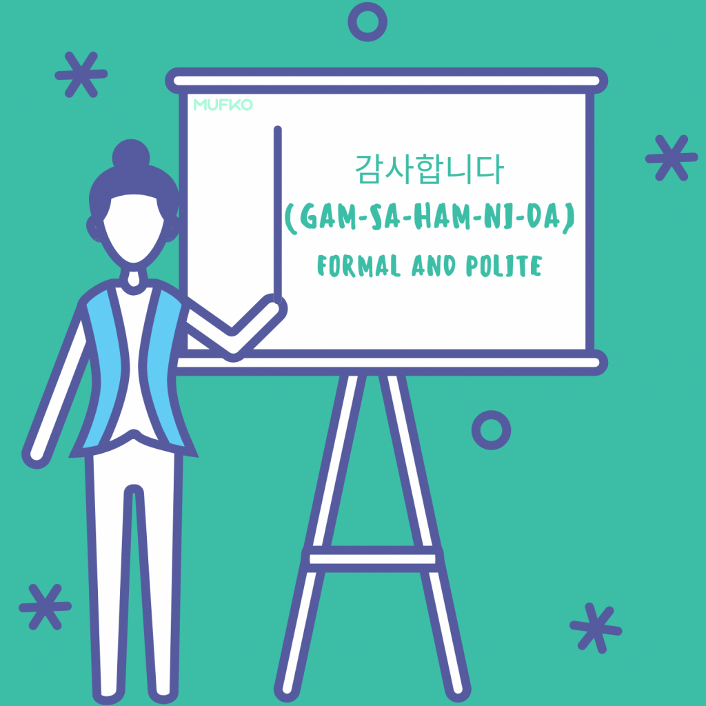 """how to say """"thank you"""" in korean  mufko"""